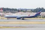 岡崎美合さんが、成田国際空港で撮影したアエロフロート・ロシア航空 A330-343Xの航空フォト(写真)
