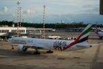 みっちゃんさんが、デュッセルドルフ国際空港で撮影したエミレーツ航空 777-31H/ERの航空フォト(写真)
