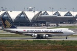 sky-spotterさんが、スワンナプーム国際空港で撮影したシンガポール航空カーゴ 747-412F/SCDの航空フォト(写真)