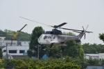 りゅうさんさんが、調布飛行場で撮影した東邦航空 AS332L Super Pumaの航空フォト(写真)
