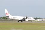 たかきさんが、鹿児島空港で撮影したJALエクスプレス 737-846の航空フォト(写真)