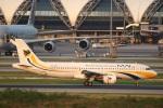 sky-spotterさんが、スワンナプーム国際空港で撮影したミャンマー国際航空 A320-214の航空フォト(写真)