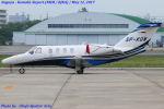 Chofu Spotter Ariaさんが、名古屋飛行場で撮影したポーランド個人所有 525 CitationJetの航空フォト(写真)