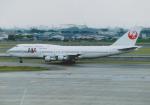 よしポンさんが、伊丹空港で撮影した日本航空 747-146B/SR/SUDの航空フォト(写真)