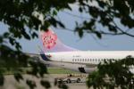 Mt.Maruさんが、松本空港で撮影したチャイナエアライン 737-8Q8の航空フォト(写真)