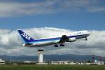 wish-blueさんが、高知空港で撮影した全日空 767-381の航空フォト(写真)