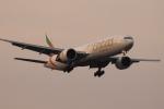 多楽さんが、成田国際空港で撮影したエミレーツ航空 777-31H/ERの航空フォト(写真)