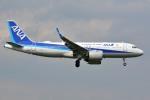 さくらの城南山。さんが、成田国際空港で撮影した全日空 A320-271Nの航空フォト(写真)