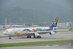 JA8037さんが、香港国際空港で撮影した南アフリカ航空 A340-313Xの航空フォト(写真)