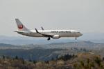 hoppyさんが、秋田空港で撮影したJALエクスプレス 737-846の航空フォト(写真)