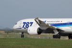hoppyさんが、秋田空港で撮影した全日空 787-881の航空フォト(写真)