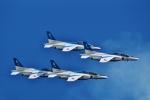ふるぴーさんが、岩国空港で撮影した航空自衛隊 T-4の航空フォト(写真)