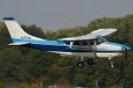 (`・ω・´)さんが、調布飛行場で撮影した川崎航空 TU206F Turbo Stationairの航空フォト(写真)