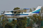 (`・ω・´)さんが、調布飛行場で撮影したアイベックスアビエイション TU206G Turbo Stationair 6の航空フォト(写真)