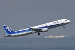 B747‐400さんが、羽田空港で撮影した全日空 A321-211の航空フォト(写真)