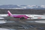しかばねさんが、新千歳空港で撮影したピーチ A320-214の航空フォト(写真)