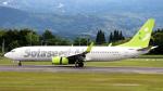 誘喜さんが、鹿児島空港で撮影したソラシド エア 737-86Nの航空フォト(写真)
