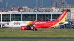 2wmさんが、台湾桃園国際空港で撮影したベトジェットエア A320-214の航空フォト(写真)