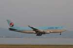 amagoさんが、関西国際空港で撮影した大韓航空 747-4B5の航空フォト(写真)