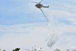 NIKKOREX Fさんが、渋川市坂東緑地公園ソフトボール場で撮影した群馬県防災航空隊 412EPの航空フォト(写真)