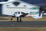 Nao0407さんが、松本空港で撮影した日本法人所有 DA42 TwinStarの航空フォト(写真)