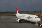 小牛田薫さんが、宮古空港で撮影したJALエクスプレス 737-446の航空フォト(写真)