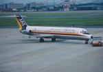 よしポンさんが、名古屋飛行場で撮影した日本エアシステム DC-9-41の航空フォト(写真)