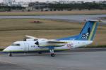 小牛田薫さんが、宮古空港で撮影した琉球エアーコミューター DHC-8-103Q Dash 8の航空フォト(写真)