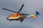 なごやんさんが、名古屋飛行場で撮影した新日本ヘリコプター AS332L1 Super Pumaの航空フォト(写真)