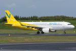 Tomo-Papaさんが、成田国際空港で撮影したバニラエア A320-214の航空フォト(写真)