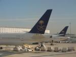 C.B.Airwaysさんが、パリ シャルル・ド・ゴール国際空港で撮影したサウディア 777-3FG/ERの航空フォト(写真)
