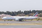 岡崎美合さんが、成田国際空港で撮影したエールフランス航空 777-328/ERの航空フォト(写真)