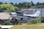 yabyanさんが、名古屋飛行場で撮影したスカイシャフト 172N Skyhawk IIの航空フォト(写真)