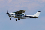 yabyanさんが、名古屋飛行場で撮影した学校法人ヒラタ学園 航空事業本部 TU206G Turbo Stationair 6の航空フォト(写真)