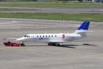yabyanさんが、名古屋飛行場で撮影した宇宙航空研究開発機構 680 Citation Sovereignの航空フォト(写真)