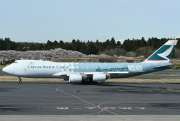 TAK10547さんが、成田国際空港で撮影したキャセイパシフィック航空 747-867F/SCDの航空フォト(写真)