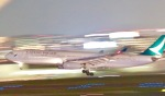 たかきさんが、福岡空港で撮影したキャセイパシフィック航空 A330-342の航空フォト(写真)