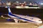 たかきさんが、福岡空港で撮影した全日空 777-381の航空フォト(写真)