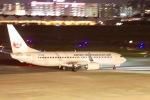 たかきさんが、福岡空港で撮影した日本トランスオーシャン航空 737-8Q3の航空フォト(写真)