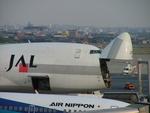 はみんぐばーどさんが、名古屋飛行場で撮影した日本航空 747-246Fの航空フォト(写真)