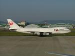 はみんぐばーどさんが、名古屋飛行場で撮影した日本航空 747-221F/SCDの航空フォト(写真)