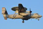 350JMさんが、厚木飛行場で撮影したアメリカ海軍 E-2D Advanced Hawkeyeの航空フォト(写真)