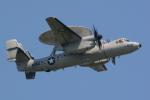 banshee02さんが、厚木飛行場で撮影したアメリカ海軍 E-2D Advanced Hawkeyeの航空フォト(写真)