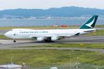きゅうさんが、関西国際空港で撮影したキャセイパシフィック航空 747-467F/ER/SCDの航空フォト(写真)