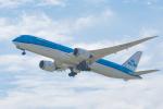 きゅうさんが、関西国際空港で撮影したKLMオランダ航空 787-9の航空フォト(写真)