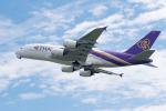 きゅうさんが、関西国際空港で撮影したタイ国際航空 A380-841の航空フォト(写真)