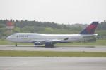 krozさんが、成田国際空港で撮影したデルタ航空 747-451の航空フォト(写真)