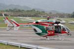 神宮寺ももさんが、高松空港で撮影した香川県防災航空隊 BK117C-2の航空フォト(写真)