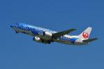 撮り撮り人さんが、岡山空港で撮影した日本トランスオーシャン航空 737-4Q3の航空フォト(写真)