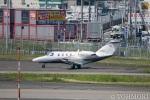 遠森一郎さんが、福岡空港で撮影したオートパンサー 525 Citation CJ1の航空フォト(写真)